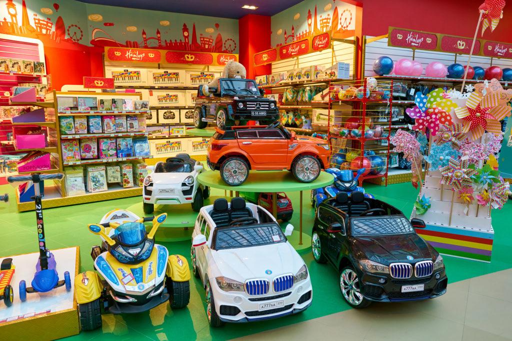 Novelty toy store